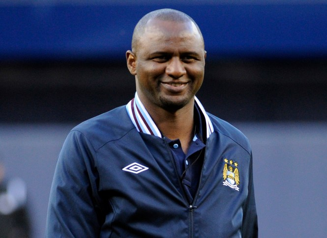 Patrick Vieira spent two years as New York City boss after playing for Arsenal from 1996 to 2005