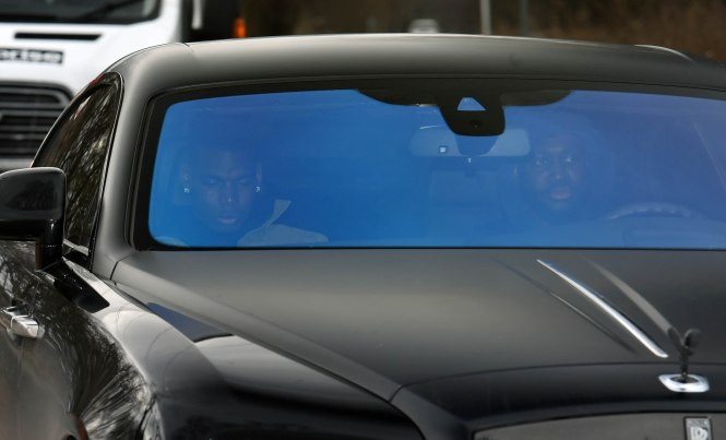 Paul Pogba turned up for pre-Liverpool training this morning