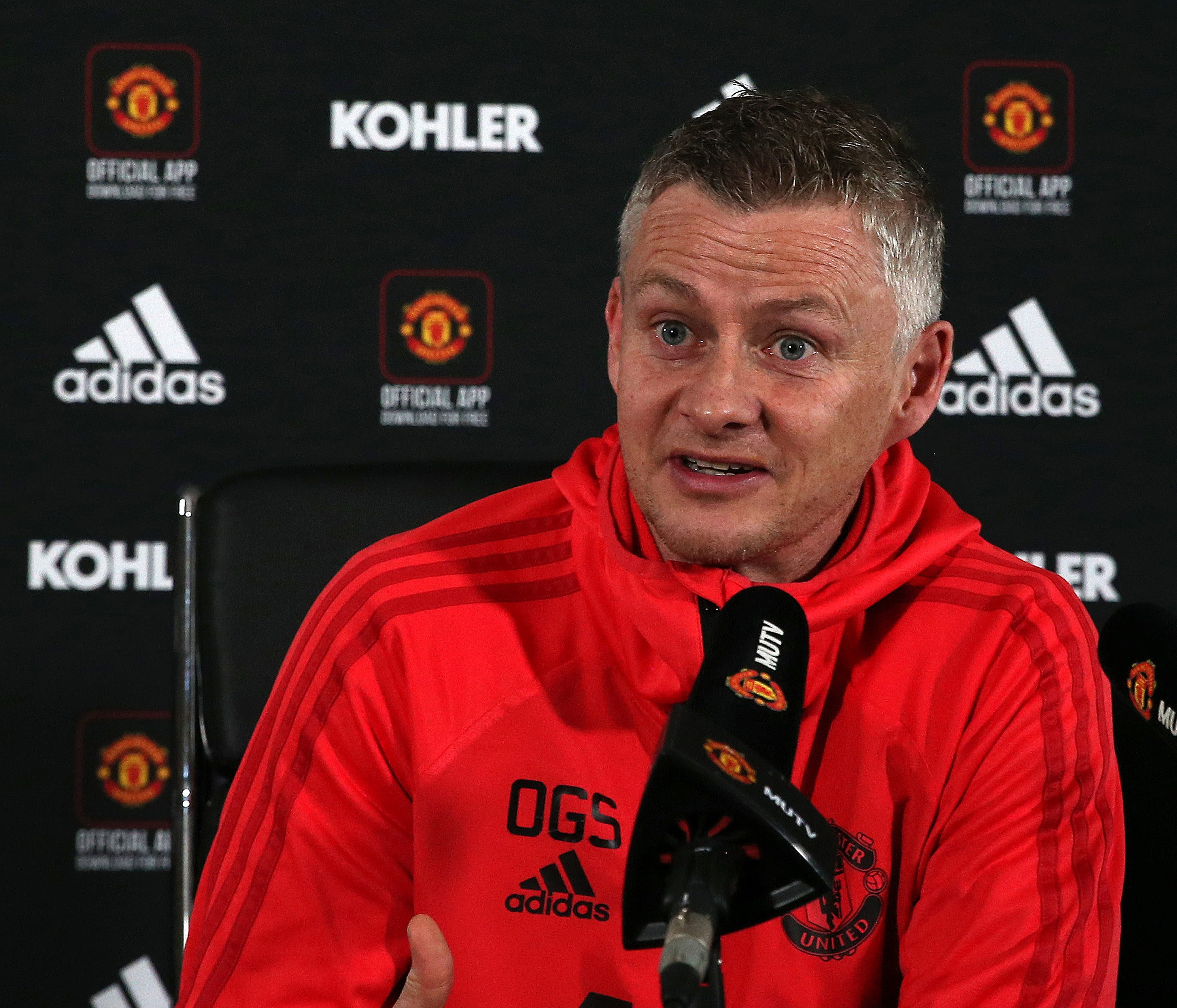 Ole Gunnar Solskjaer's side are fourth in the Premier League table