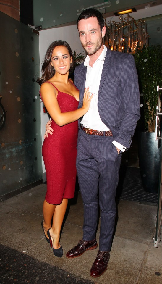 Georgia May Foote pictured with Sean Ward