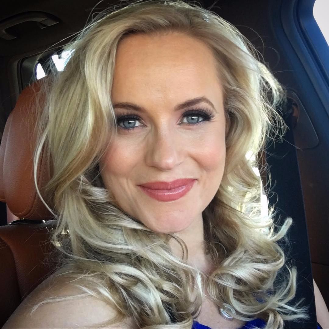 Ms Woodward gushed on social media following her husbands record-breaking win in Florida