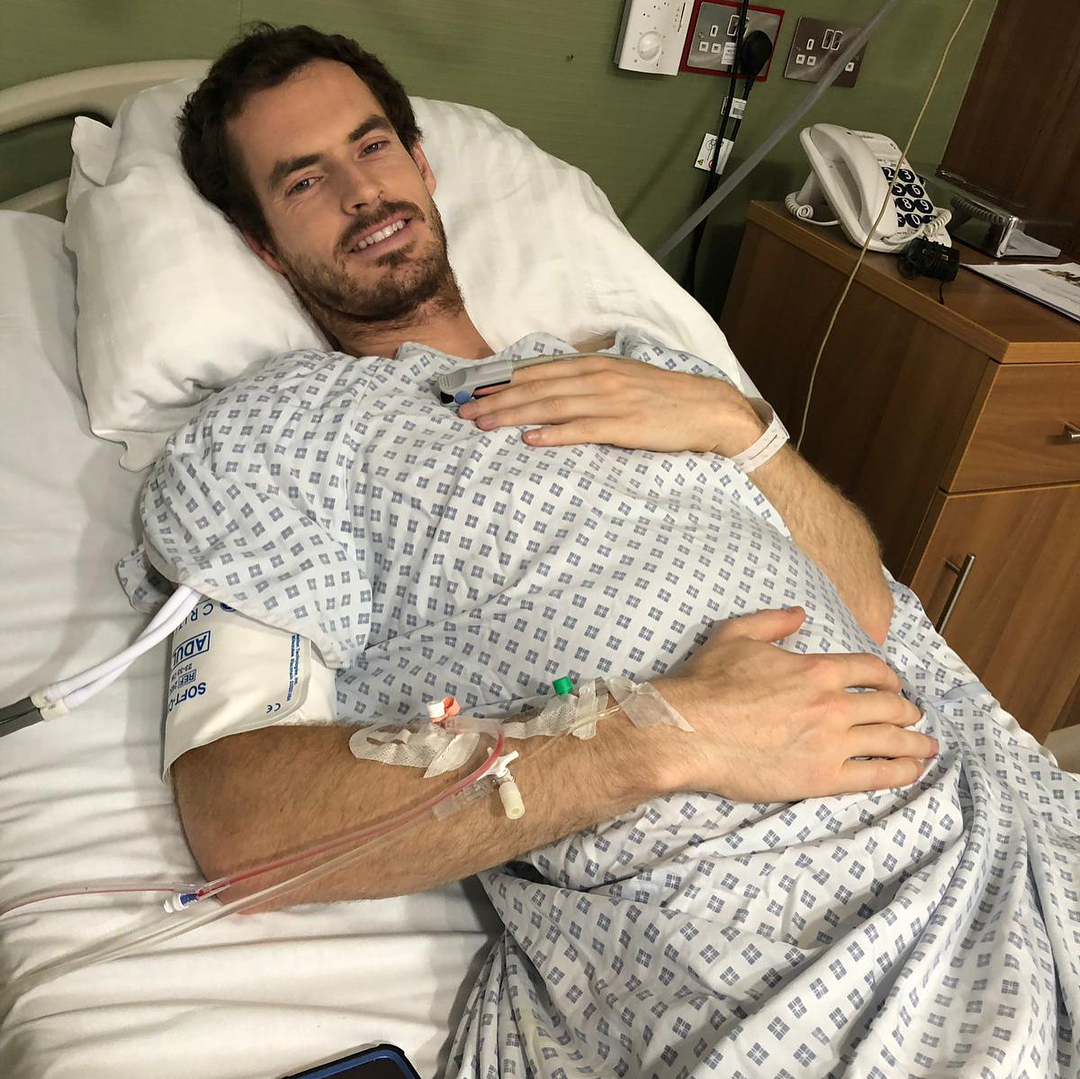 Former world No1 Andy Murray has had two hip operations this year after the three-time Grand Slam winner has battled chronic pain and injuries