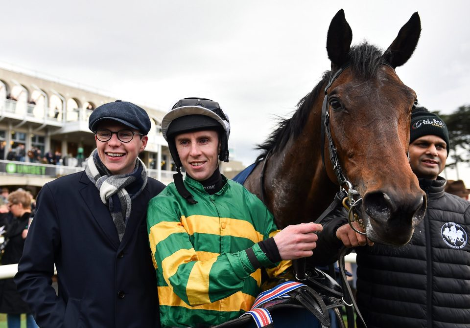 Sir Erec and Joseph OBrien after their Grade 1 victory last time out