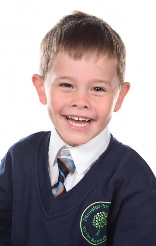 Oscar Saxelby-Lee was diagnosed with an aggressive and rare form of leukaemia last December