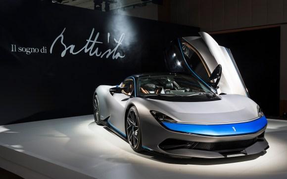 Automobili Pininfarina's ground-breaking Battista luxury electric hypercar
