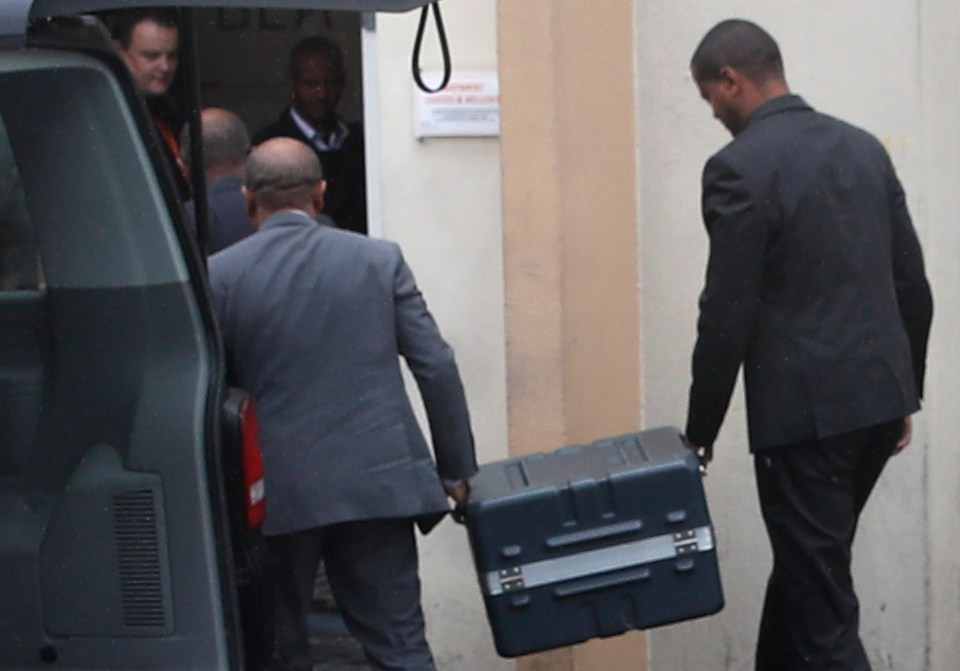 The black boxes have arrived in Paris for investigation