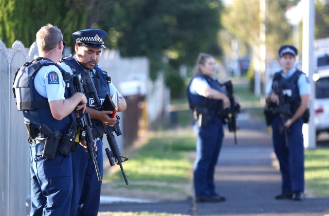 Police confirmed  they would be armed in the days after the massacre