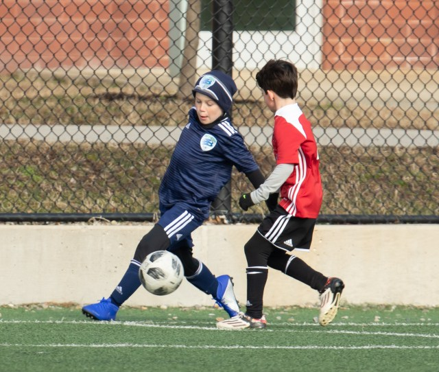 The son of former England captain Wayne was playing for a kids' team in Washington DC
