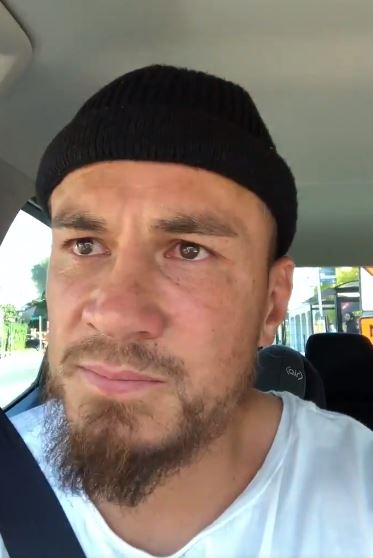Sonny Bill Williams posted an emotional message after the Christchurch terror attack