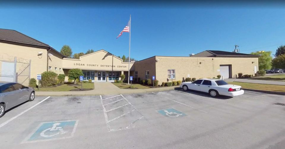 Thigpen was held at Logan County Detention Center in Kentucky