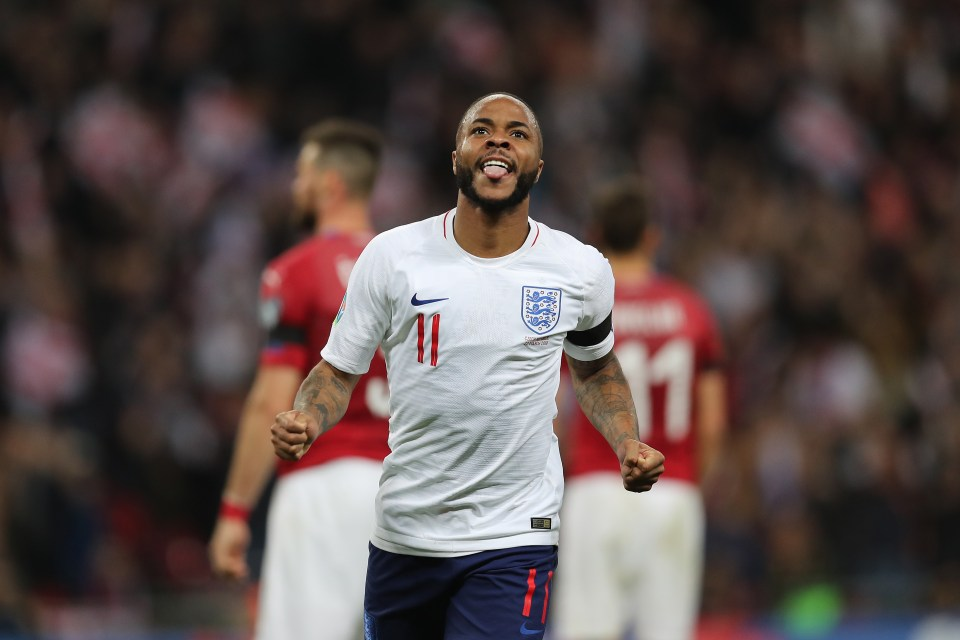 Raheem Sterling Was On Fire Against Czech Republic Netting His First Hat Trick For England Getty Contributor