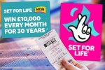 Winning Set For Life numbers for Monday October 12 £10,000 a month jackpot