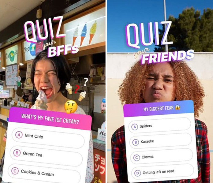Instagram adds new stickers to Stories that let you quiz your mates
