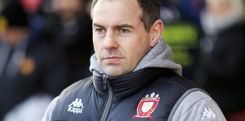 Ian Watson is close to agreeing a new deal to stay as Salford coach