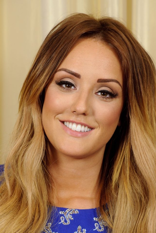 Charlotte Crosby, pictured in 2014, before having fillers