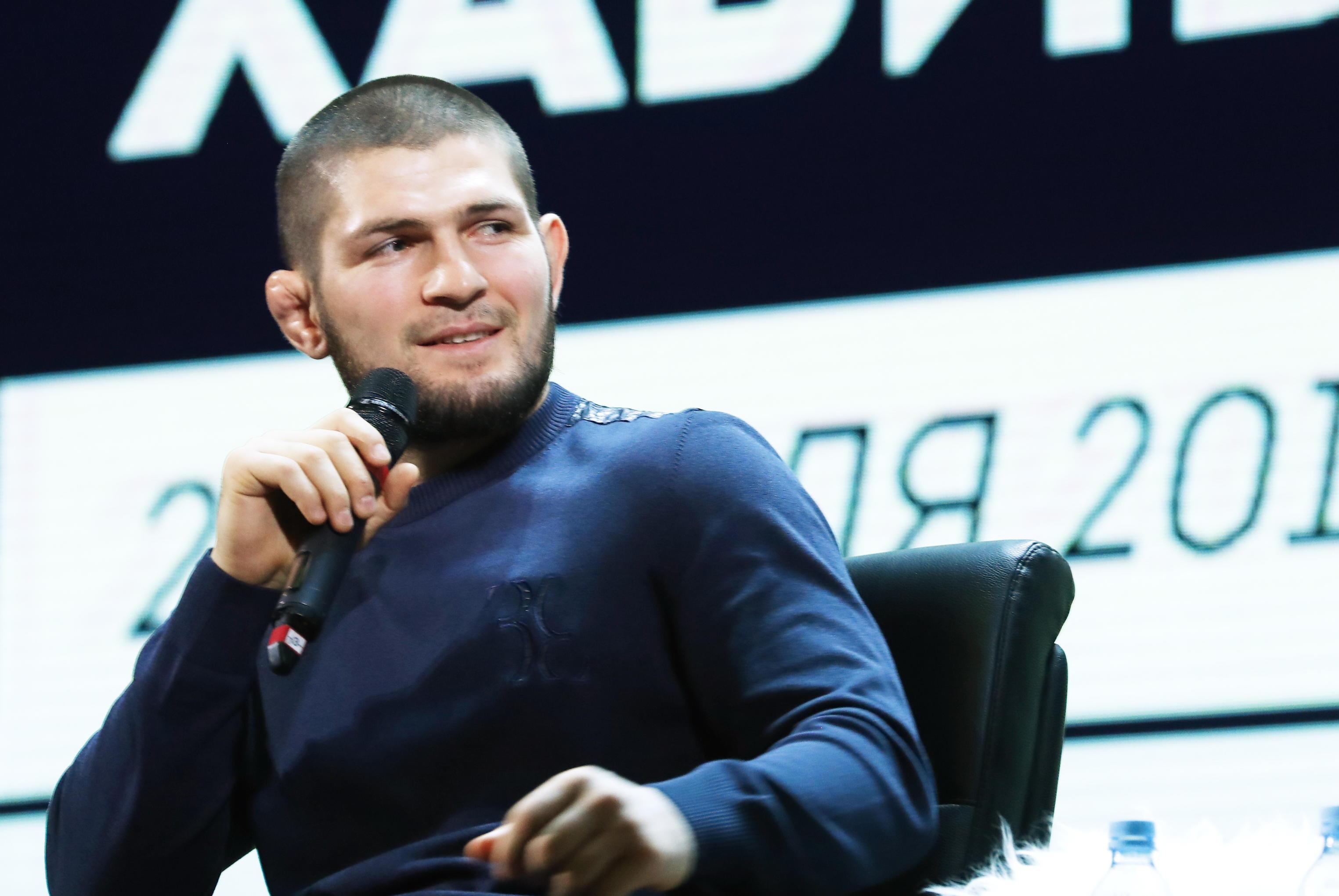Khabib boasts 27 wins and zero defeats in his MMA career