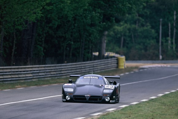 Ian says the Nissan R390 GT1 would be worth 'millions' now but Nissan wouldn't sell it