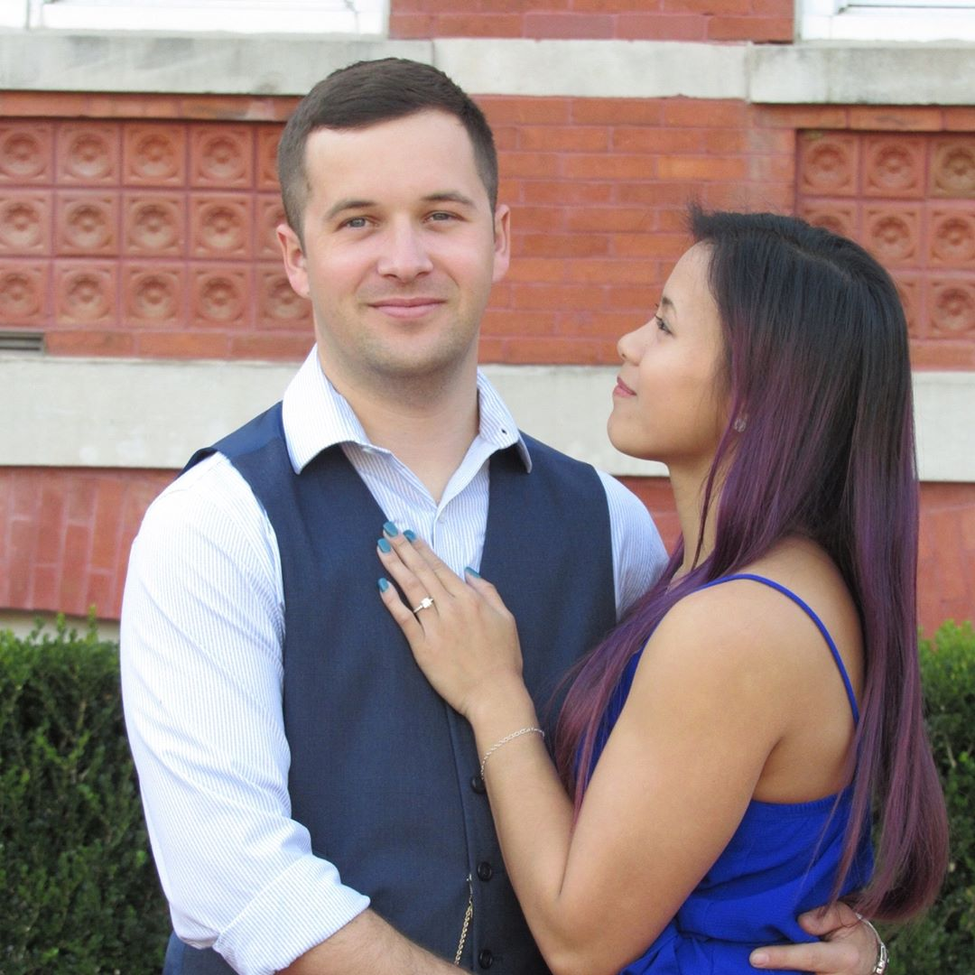 The student will tie the knot with fiance Trey Wood in Alabama in June