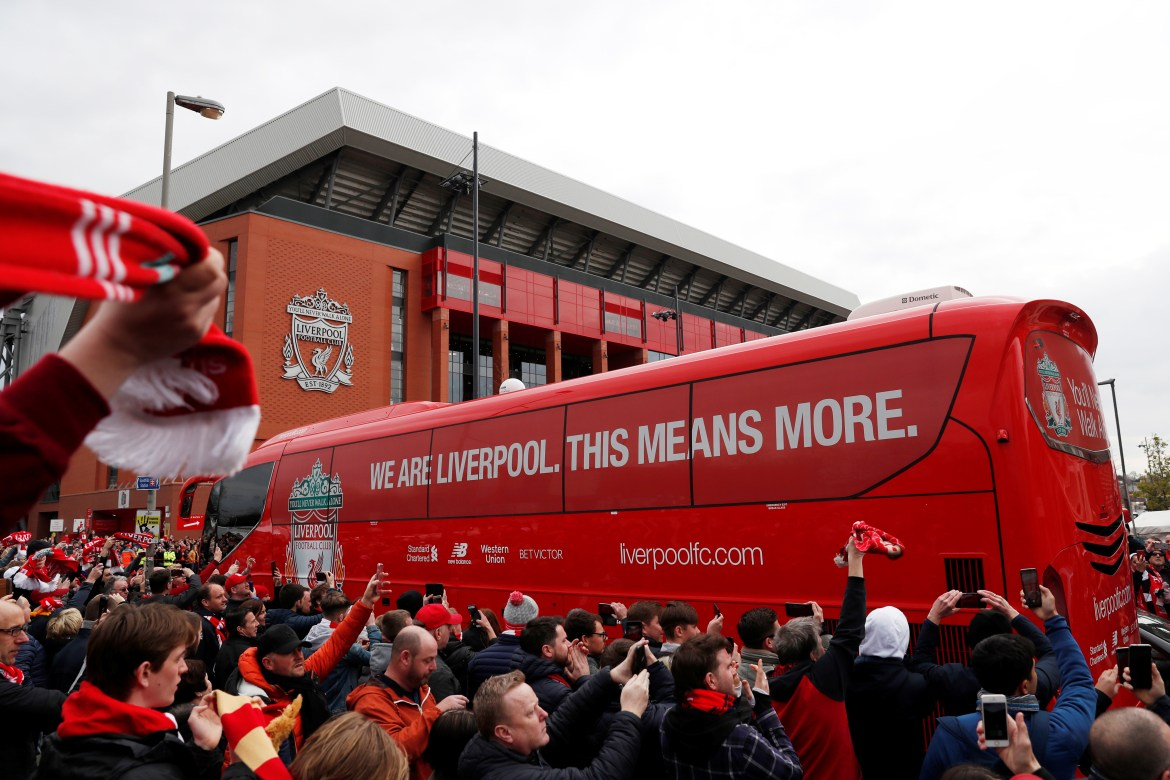 Liverpool fans will hope Man City drop points at home to Spurs