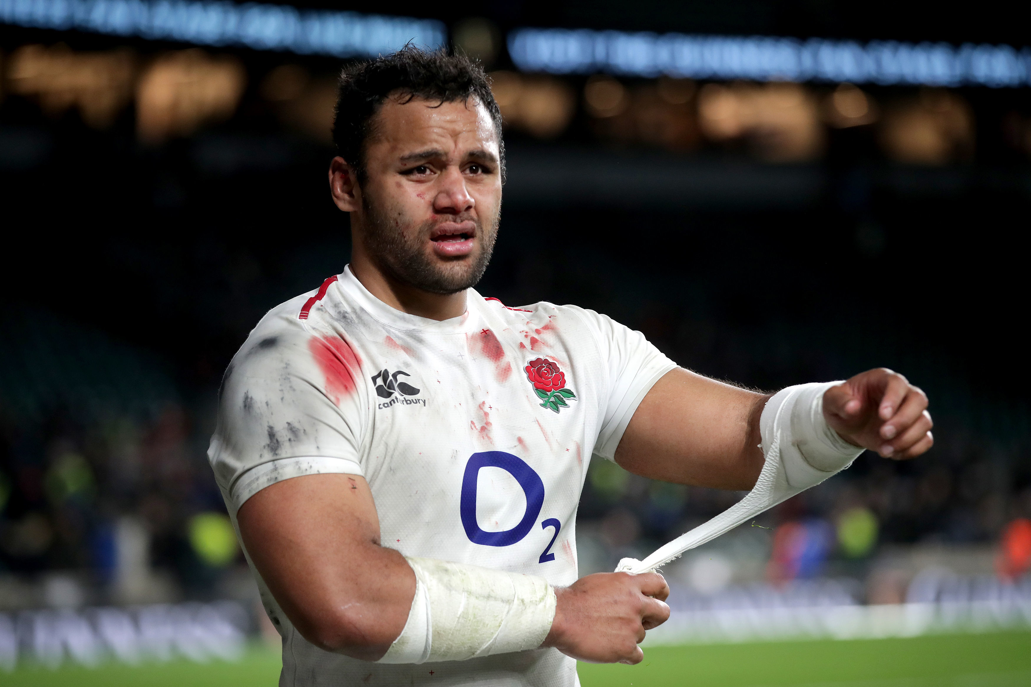 Saracens star Billy Vunipola has been warned over his future conduct by England