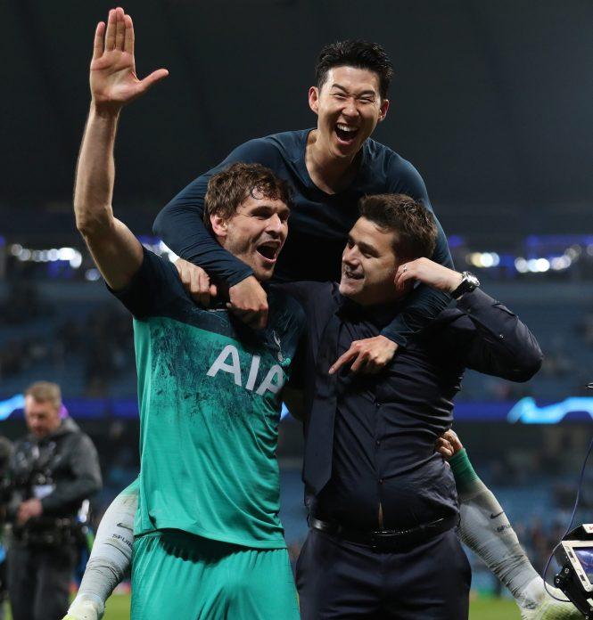 Fernando Llorente Fires Spurs Into Champions League Semis