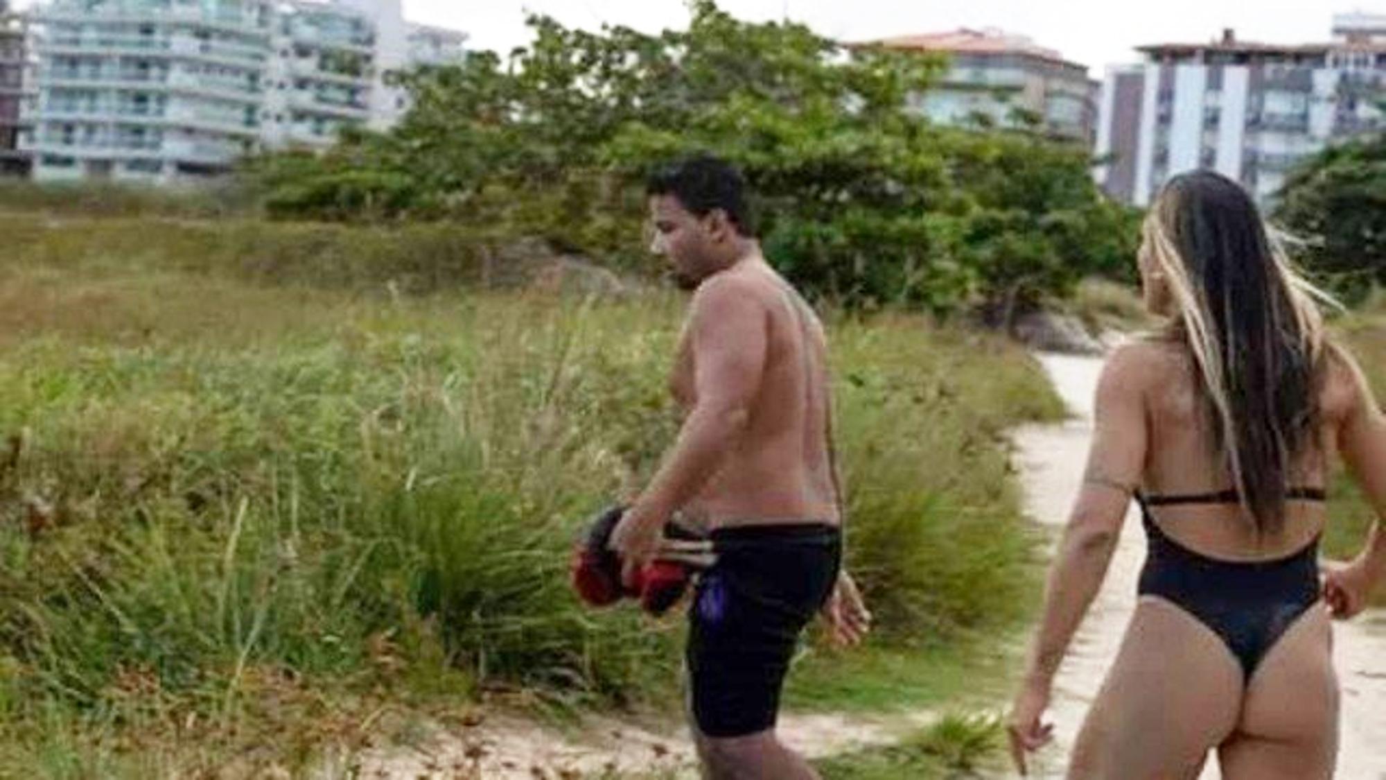 Josenei Viana Ferreira claimed he was urinating before Vieira approached him