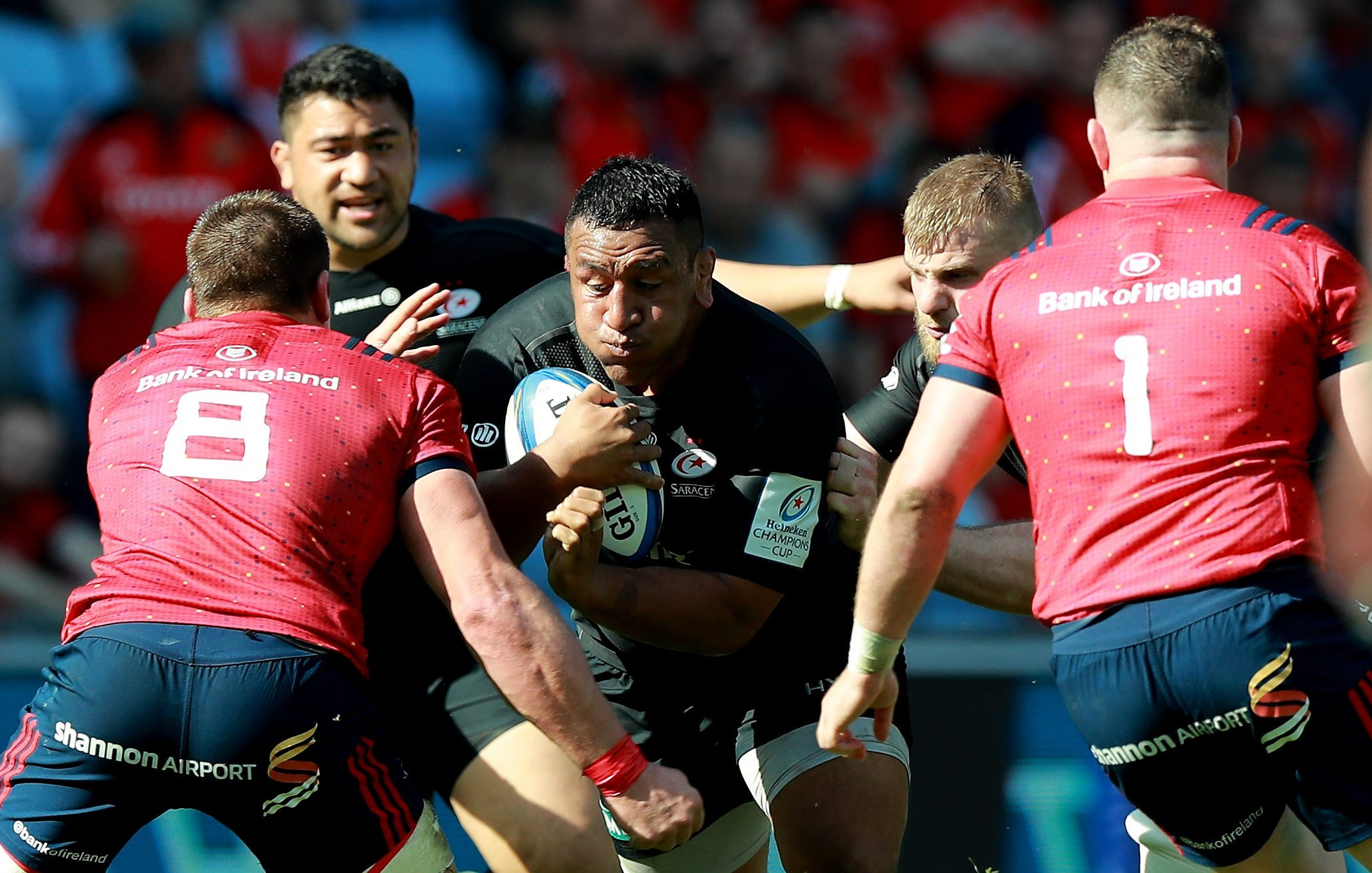 Loosehead prop Mako Vunipola praised the strength of spirit shown by Billy