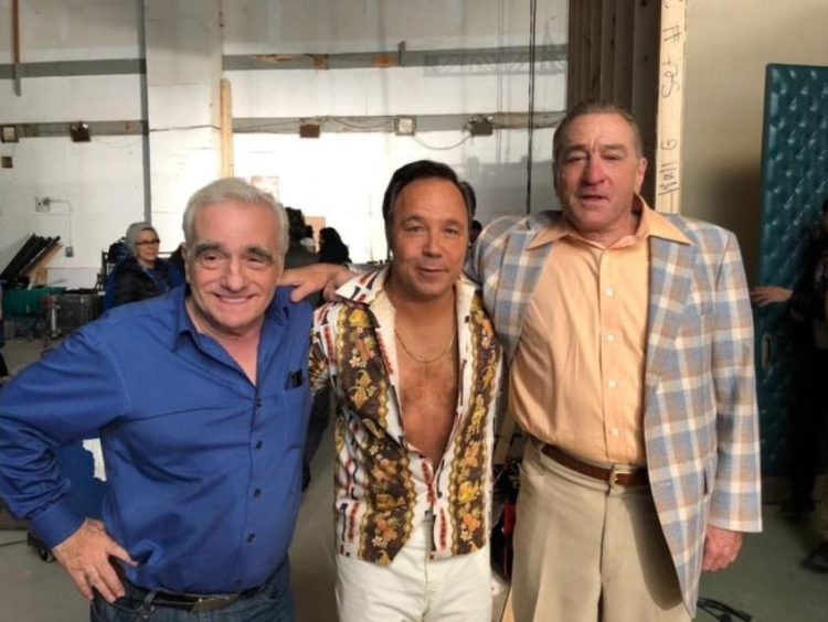 Stephen Graham has been getting to know his Hollywood heroes Martin Scorsese and Robert De Niro on the set of their new film