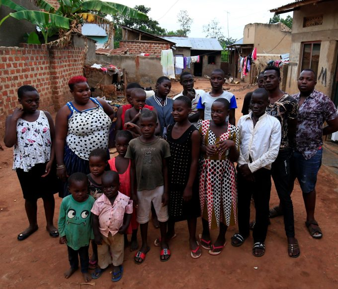 Mariam Nabatanzi has given birth to 38 children, including a further six that tragically died, due to her abnormally large ovaries