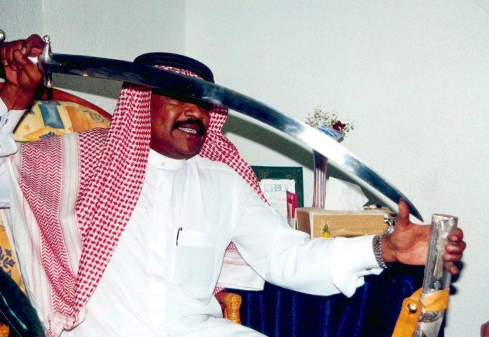 Saudi executioner shows off his sharp sword