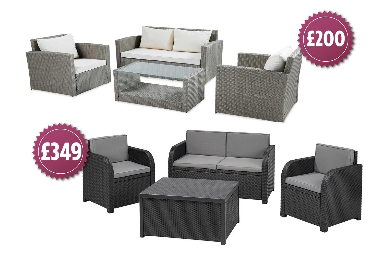 beautiful garden furniture set