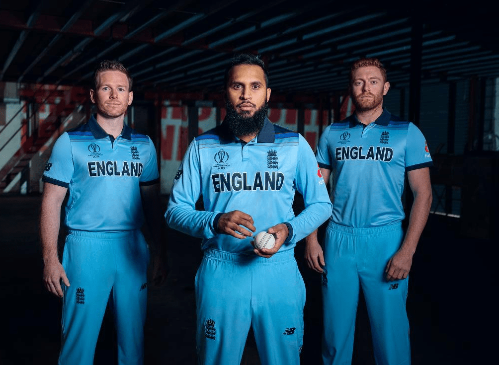 This is the kit England will wear at the World Cup