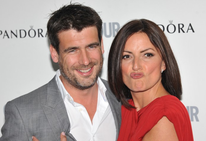 Davina split from her husband of 17 years, Matthew Robertson, last year