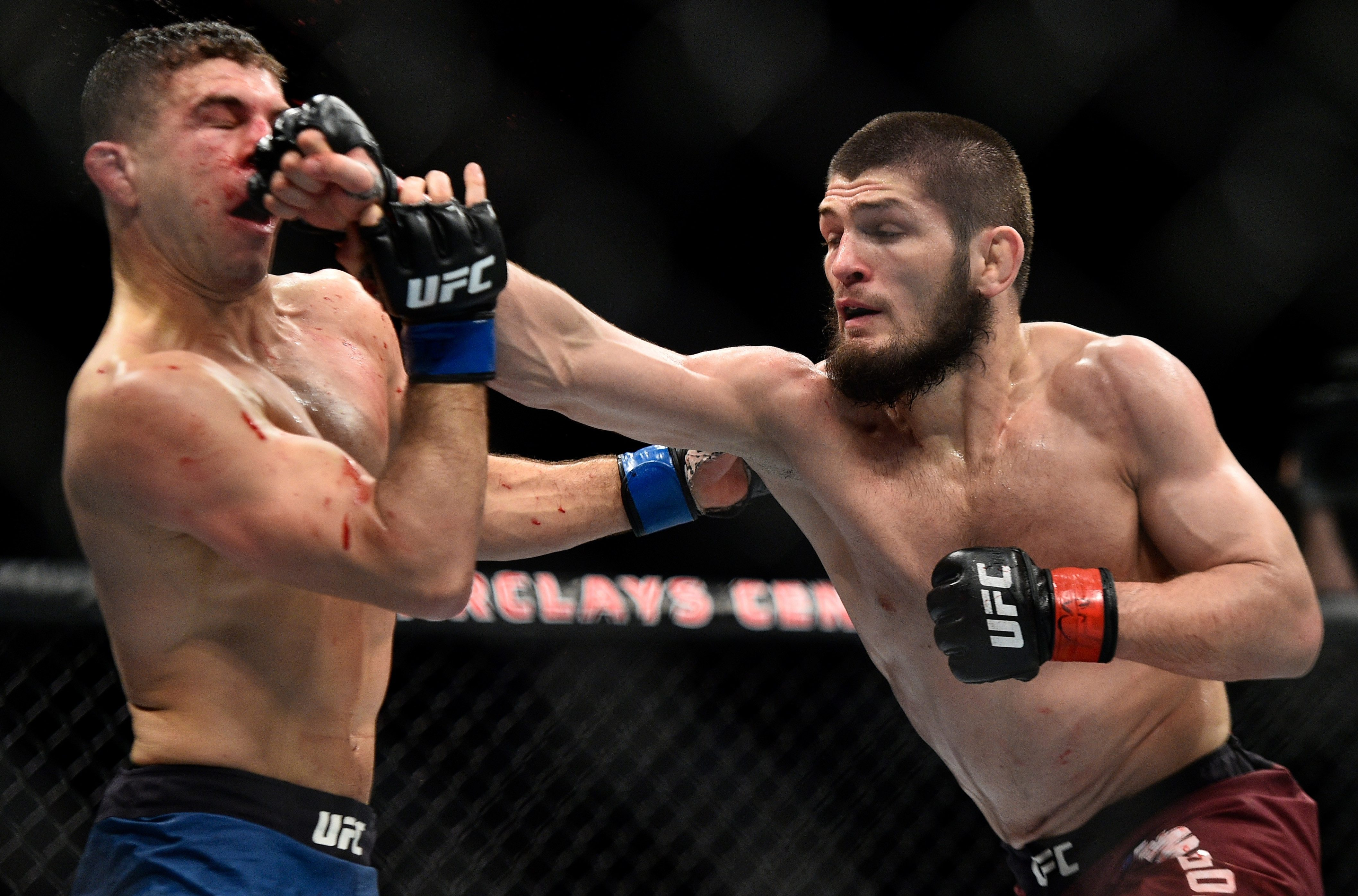 Al Iaquinta (left) looks to beat Donald Cerrone to get another shot at Khabib Nurmagomedov after losing to the lightweight champion in April 2018