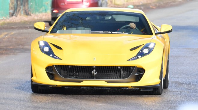 Most recently, Pogba was seen driving a Ferrari 812 Superfast worth £260k