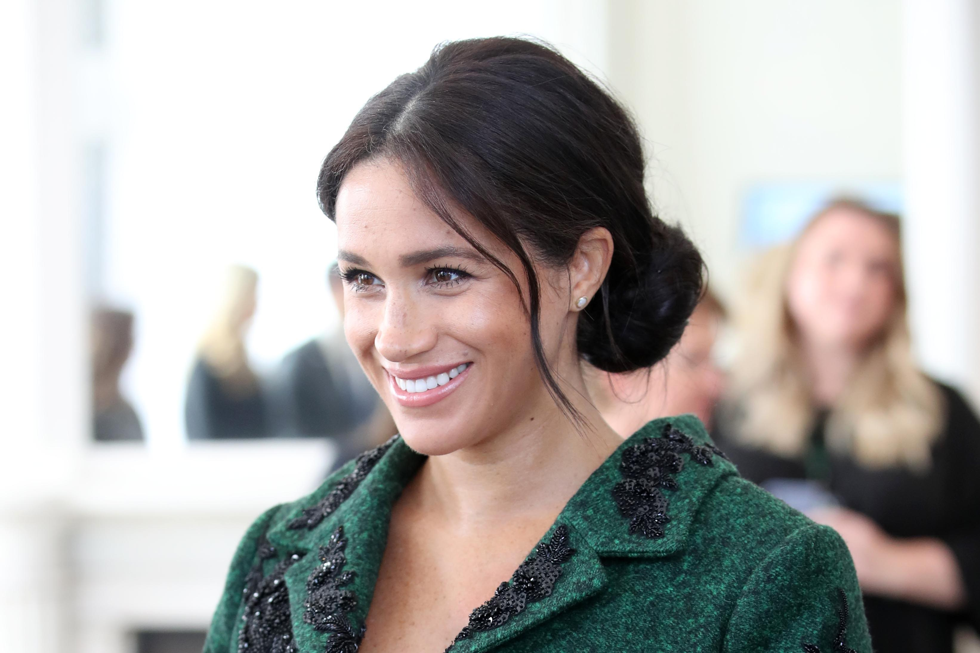 Meghan Markle's home birth 'didn't go to plan because of her untried pelvis', doctor claims
