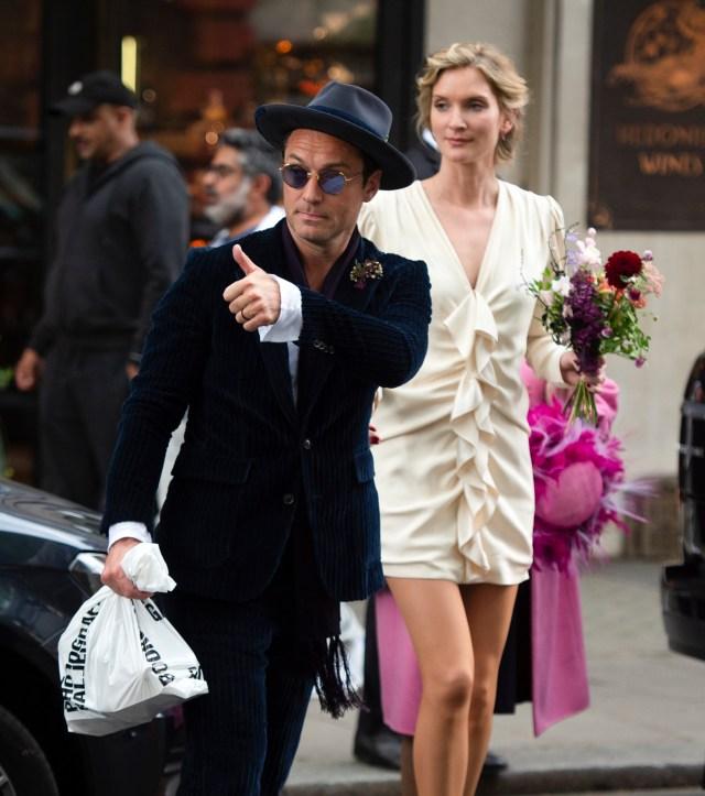 Who is Jude Law's wife Phillipa Coan?
