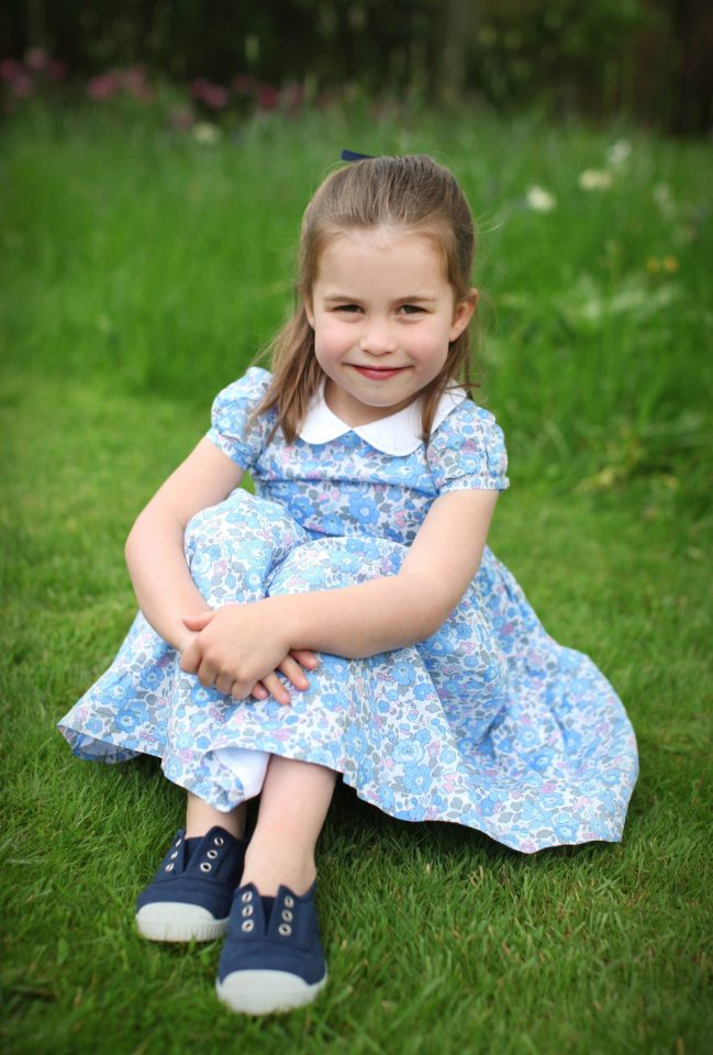 `Kate Middleton and Prince William have released new pictures of Princess Charlotte to mark her fourth birthday