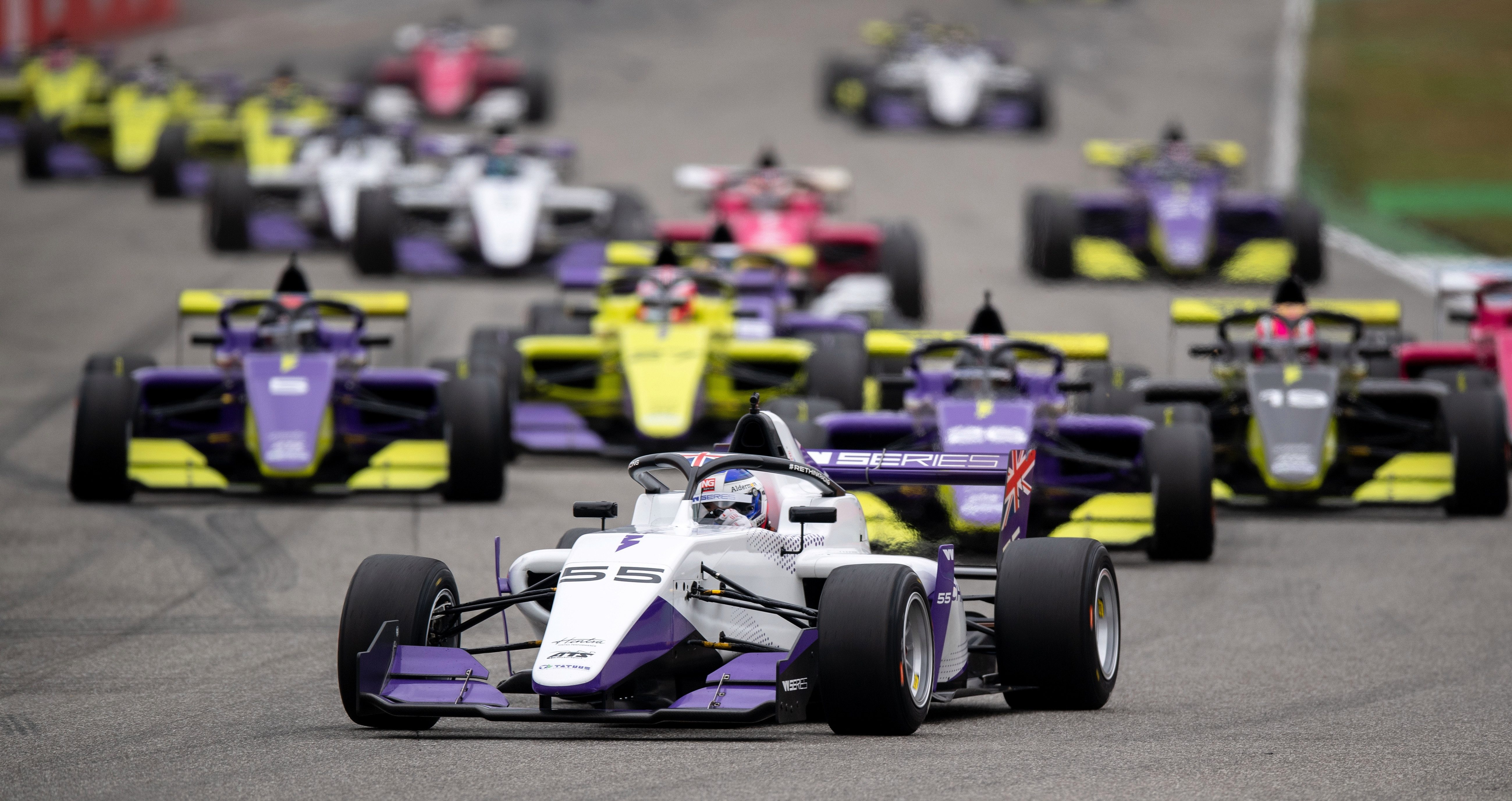 The W Series enjoyed a successful first weekend, as Britain's Jamie Chadwick drove to victory