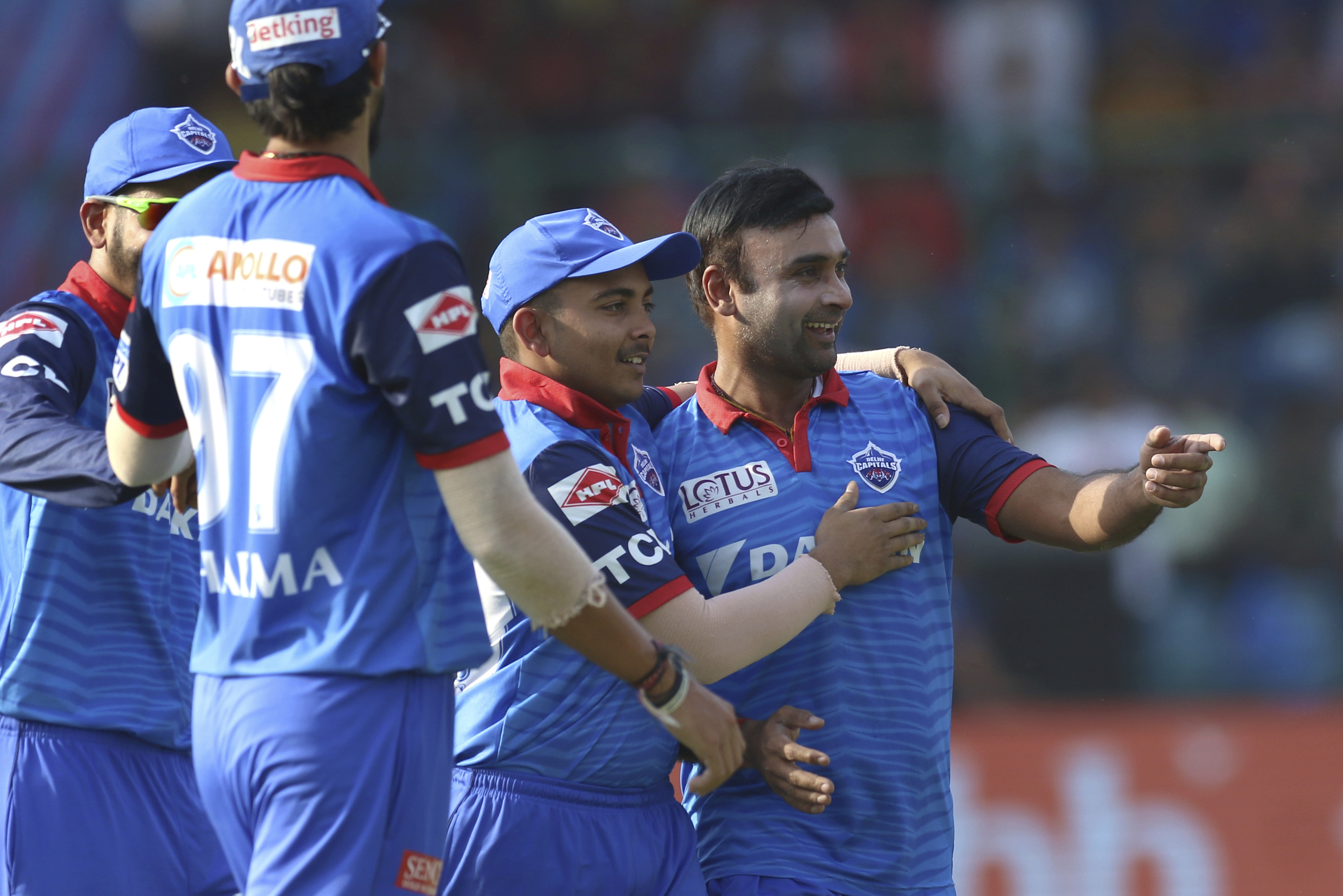 Delhi Capitals cruised to a win against Rajasthan Royals in their last game
