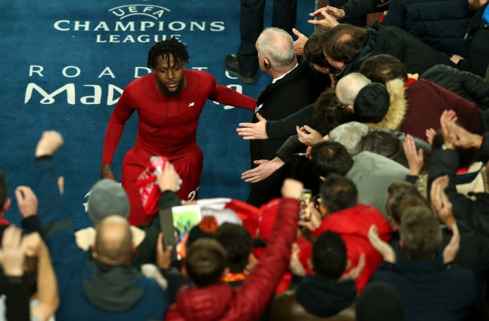 Divock Origi scored twice to help Liverpool to the final