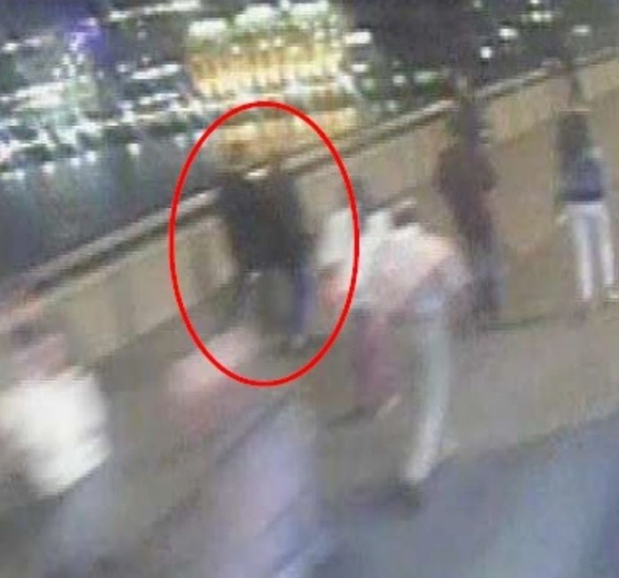 The couple were walking across London Bridge on the night of the attack