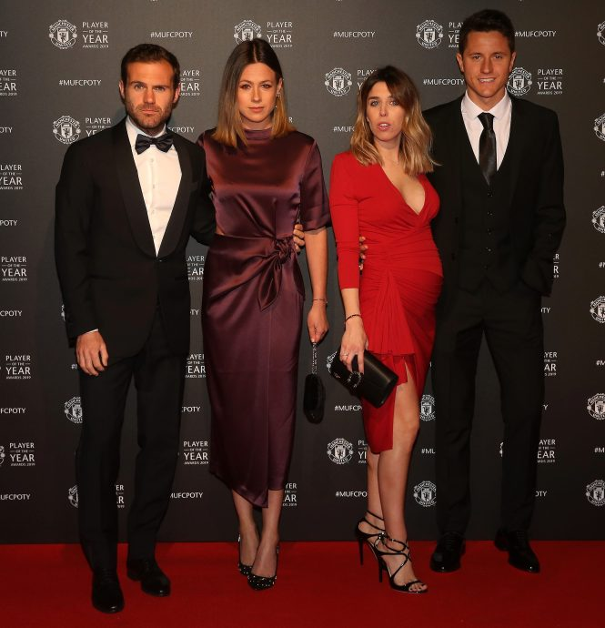 Lucas Moura And His Wife: Luke Shaw Wins Man Utd Player Of The Year As Wags Stun On