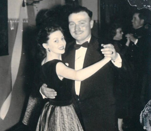 Colin Thackery seen here with his beloved wife Joan