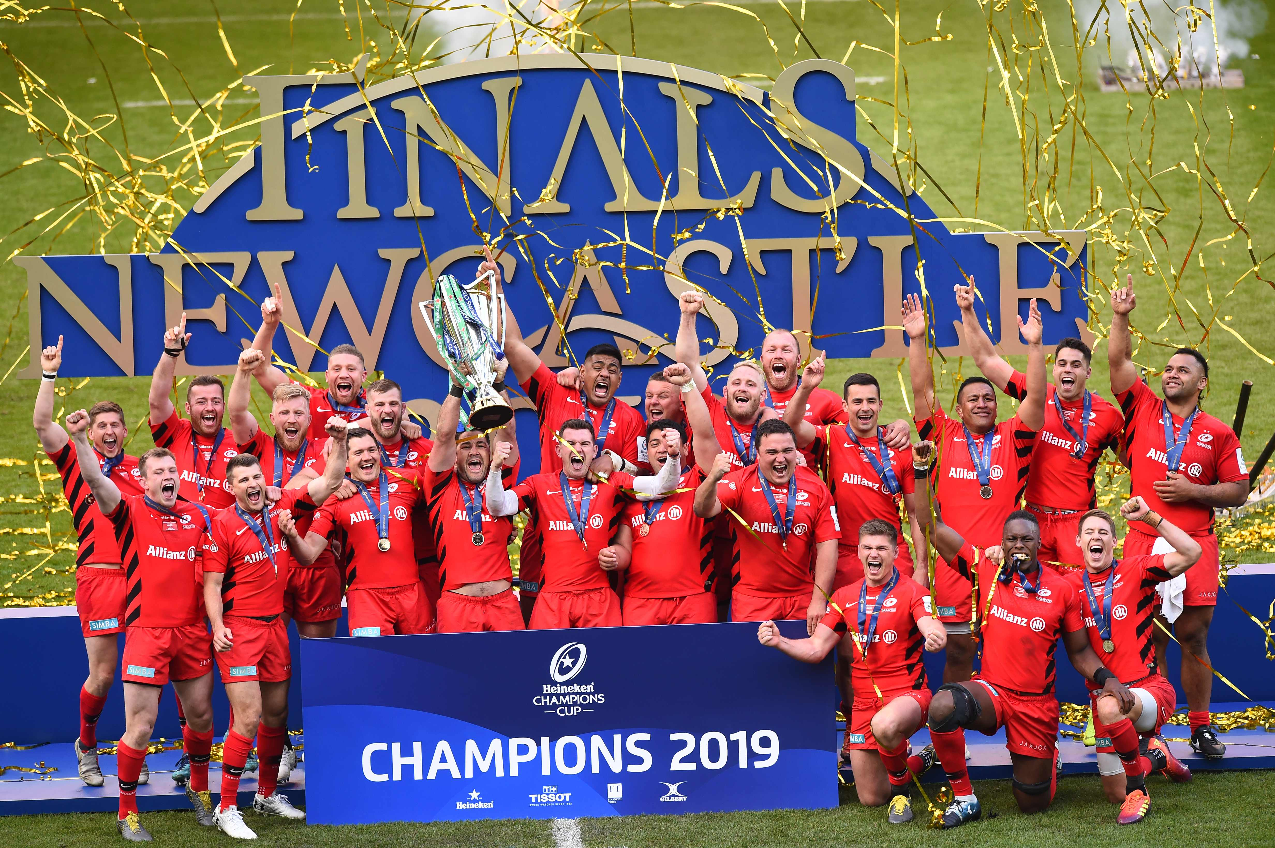 Saracens will look to seal the double in the Premiership final following their win in the European Champions Cup