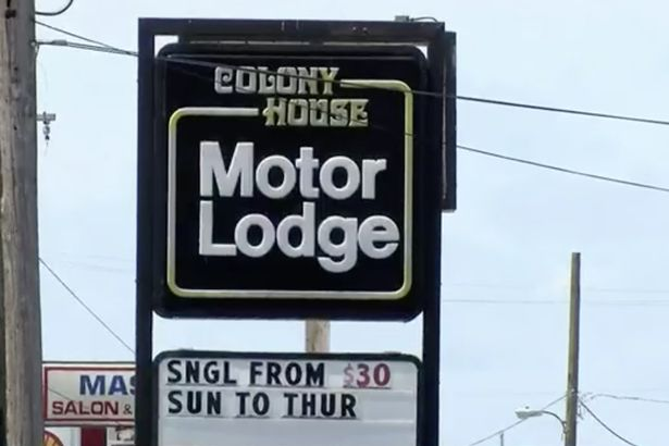 The little girl was horribly sexually assaulted at the Colony House Motor Lodge