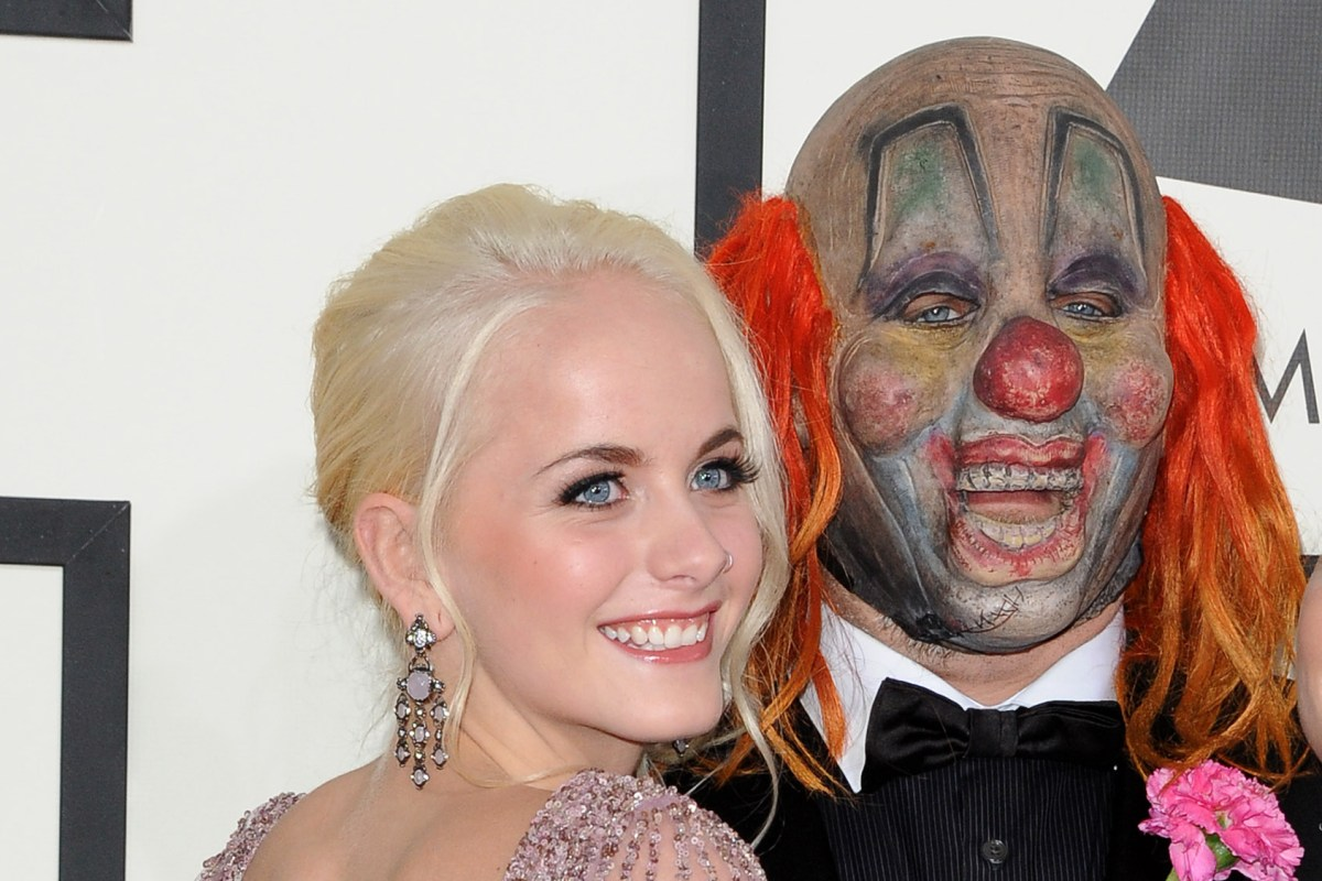 Slipknot drummer Shawn 'Clown' Crahan 'heartbroken' as his daughter