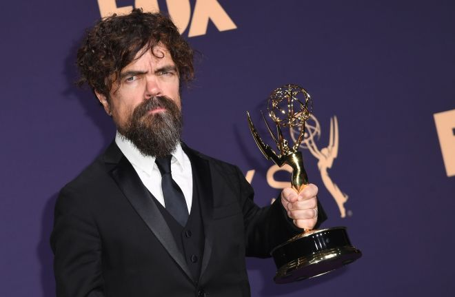 Peter Dinklage at the 2019 Emmys