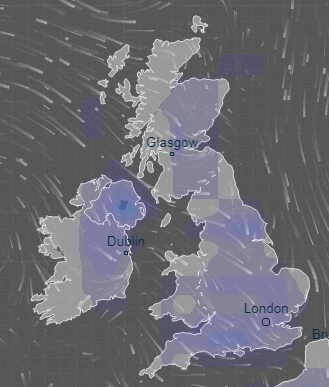 Map Of Uk Weather.Uk Weather Forecast Britain To Bask In Balmy 20c Bank Holiday