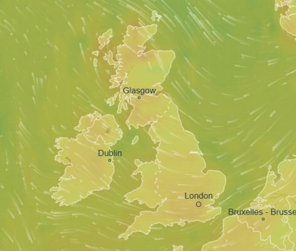 Brits are set to enjoy sunshine and highs of 20C today